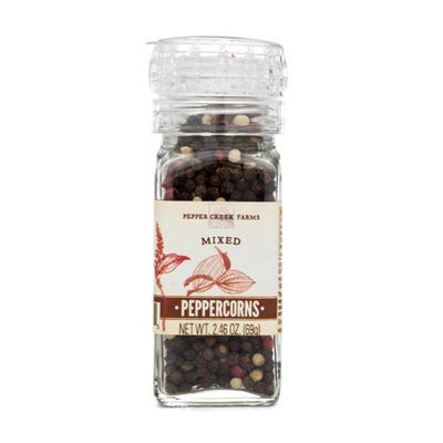Pepper Creek Farms 601I-GR4 Mixed Peppercorns With Grinder - Pack of 6