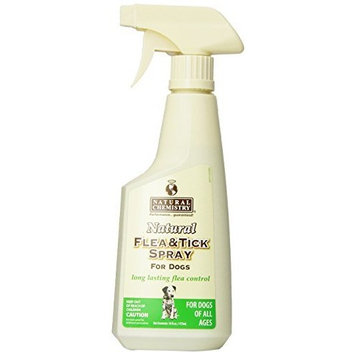 Natural Chemistry Natural Flea and Tick Spray for Dogs, 16-Ounce