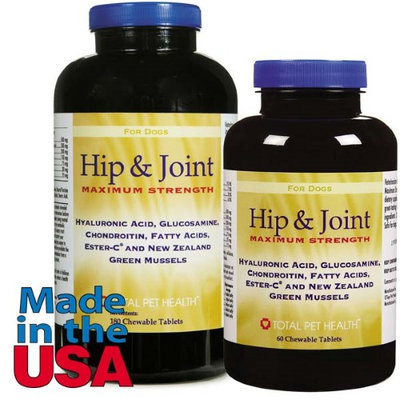 Total Pet Health Hip/Joint Maximum Tabs - 60 Count