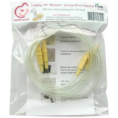 NeneSupply Tubing for Medela Swing Breast Pump, BPA Free, 2-Count