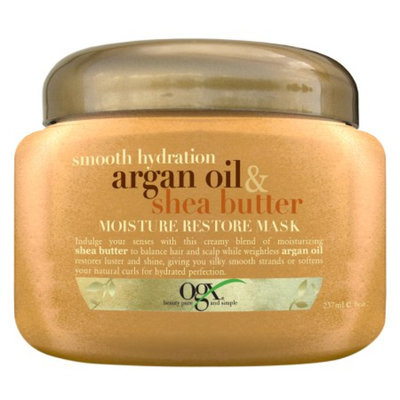OGX® Smooth Hydration Argan Oil & Shea Butter Moisture Restore Mask