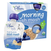 Plum Organics Tots Morning Mish Mash Blueberry Oats & Quinoa 19.02 oz