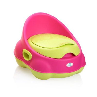Lil' Jumbl Colorful Baby Potty - Perfect Mommy's Helper for Potty Training - Pink