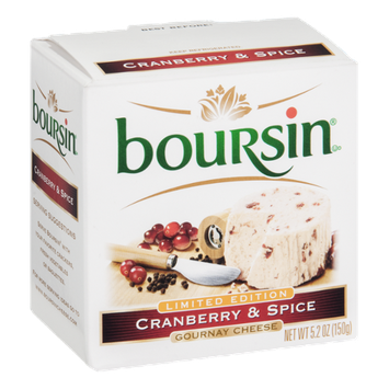 Boursin Gournay Cheese Cranberry & Spice