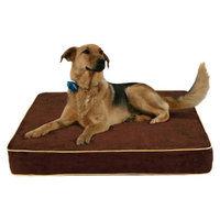 Buddy Beds, LLC Buddy Beds Memory Foam Dog Bed Log Cabin - Brown (Medium)
