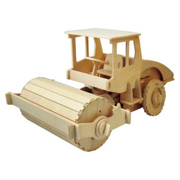Regal Puzzled Steam Roller - 3D