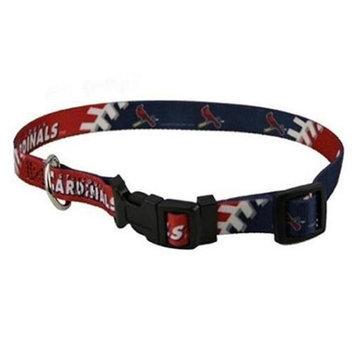 Doggie Nation.com MLB St. Louis Cardinals Pink Dog Collar Large