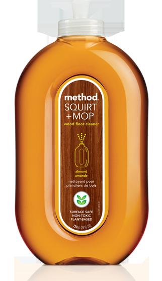 method Squirt + Mop Wood Floor Cleaner Almond