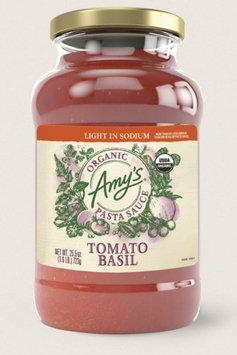 Amy's Kitchen Organic Tomato Basil Pasta Sauce, Light In Sodium