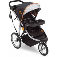 Delta Children J is for Jeep Brand Cross-Country All-Terrain Jogging Stroller, Choose Your Color