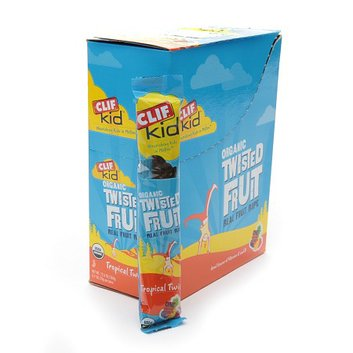 Clif Kid Organic Twisted Fruit Rope 18 pack Tropical Twist