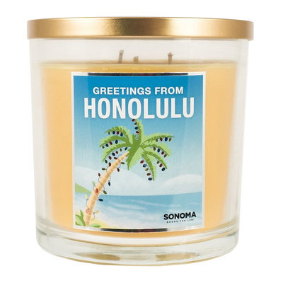 SONOMA Goods for Life™ Greetings from Honolulu 14-oz. Jar Candle, Multicolor