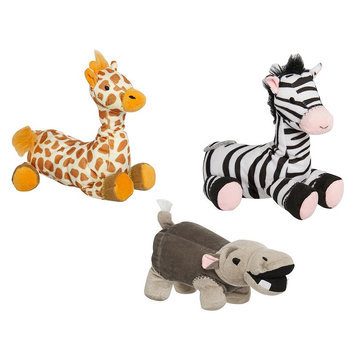 Animal Planet Squeaker Plush Dog Toys (3-Pack), Multicolor