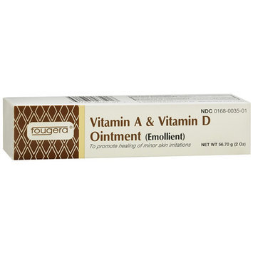 Fougera vitamin A and D ointment tube for diaper rash - 2 oz