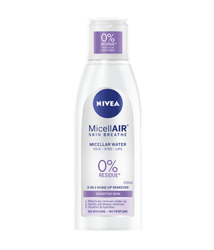 NIVEA MicellAIR® Micellar Water Sensitive Skin