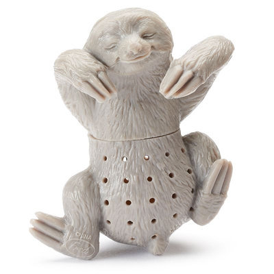 Fred and Friends Sloth Tea Infuser, Multicolor