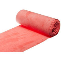 Cando 10-5612 Red Latex-Free Exercise Band, Light Resistance, 6 yd Length