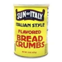 Sun of Italy Italian Flavored Bread Crumbs, 15 Ounce -- 12 per case.