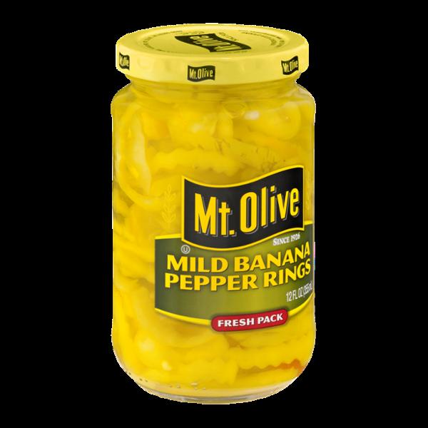 Mt. Olive Banana Pepper Rings Mild