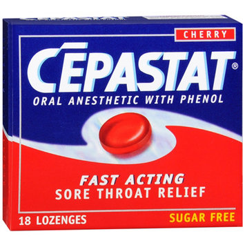 Cepastat Lozenges - Cherry 18ct(Case of 6)