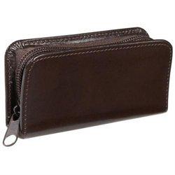 Emporium Leather 665-CN-AR Royce Leather Aristo Mini Manicure Set - Chestnut Brown