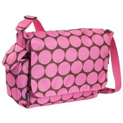 Wildkin 47085 Ashley Collection - Big Dots - Pink Diaper Bag