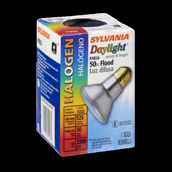 Sylvania Daylight Halogen 50 Watt Flood Light Bulb