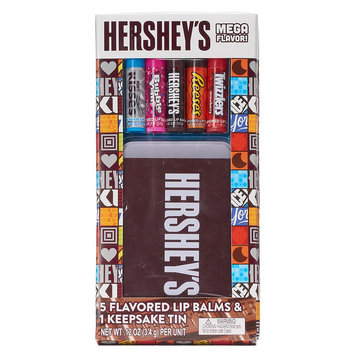 Hershey's 5-pk. Candy Flavored Lip Balm Tin, Multi/None