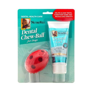 Nutri Vet Nutri-Vet Dental Chew Ball for Small Dogs
