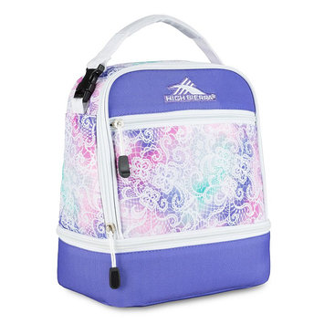 High Sierra Stacked Compartment Lunch Bag, Multi/None