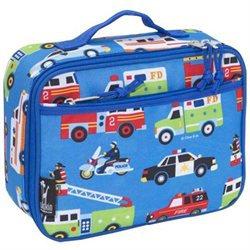 Wildkin Olive Kids Heroes Lunch Box - Blue