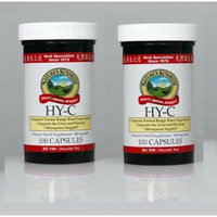Nature,s Sunshine Hy-c, Chinese Herbal Supplement Supports Glandular System 100 Capsules Each (Pack of 2)