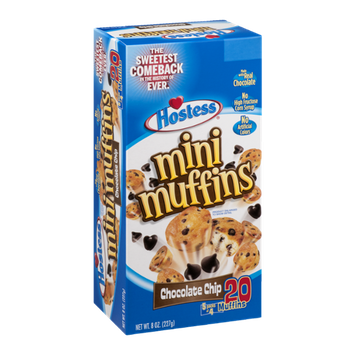 Hostess Mini Muffins Chocolate Chip - 5 CT