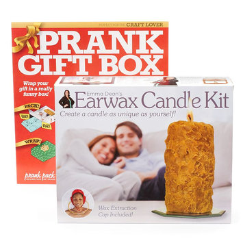 Earwax Candle Prank Gift Box by 30 Watt, Multicolor