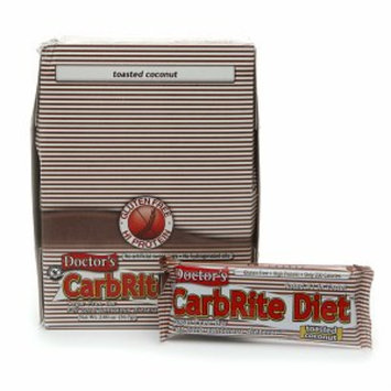 Doctor's CarbRite Diet Carb Conscious Diet Bar 12 pack Toasted Coconut
