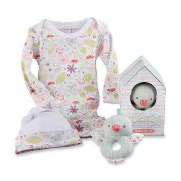 Baby Aspen Girls 3 Piece Home Tweet Home Gift Set