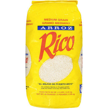 Rico: Medium Grain Rice, 5 Lb