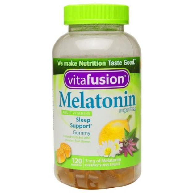 Vitafusion Melatonin Gummies - 120 Count