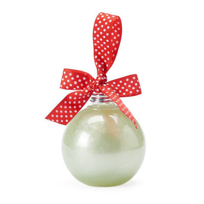 Simple Pleasures Peppermint Swirl Ornament Shower Gel, Ovrfl Oth