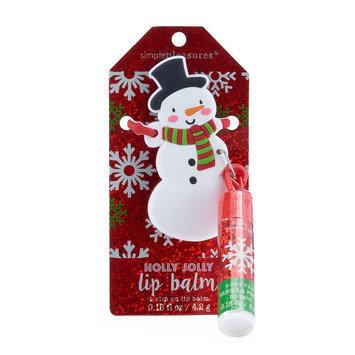 Simple Pleasures Vanilla Frost Snowman Lip Balm, Ovrfl Oth