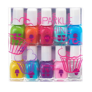 Simple Pleasures 10-pc. Sparkle & Shine Mini Nail Polish Set, Ovrfl Oth