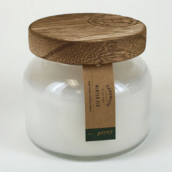 Hawkwood 6.1-oz. Winter Fir Candle Jar, White