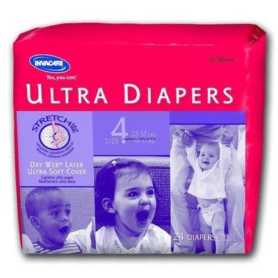 Invacare Disposable Ultra Children's Diaper Case of 176