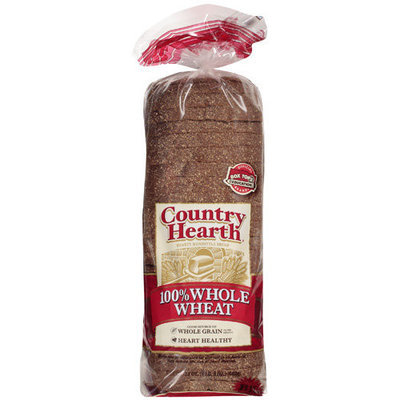 Country Health 100% Whole Wheat Bread, 24 oz