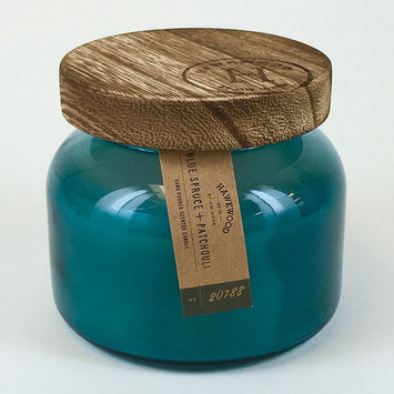 Hawkwood 6.1-oz. Blue Spruce & Patchouli Candle Jar, Turquoise/Blue (Turq/Aqua)