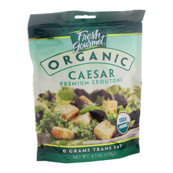 Fresh Gourmet Organic Premium Croutons Caesar