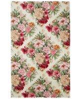 Bacova Elegant Dimensions Peonies & Roses Rug Bedding