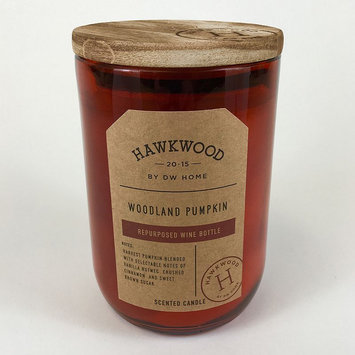Hawkwood 13.9-oz. Woodland Pumpkin Wine Candle Jar, Orange