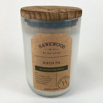 Hawkwood 13.9-oz. Winter Fir Wine Candle Jar, White
