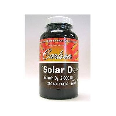 Carlson Labs - Solar D Gems 2000 IU 360 gels